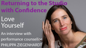 Returning to the studio with confidence