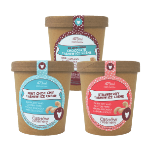 Pure Foods adds ice cream to plant-based mix