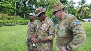 Army team takes drone literacy overseas
