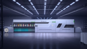 HP: 120 metres a min digital label press on horizon