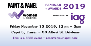 Women in Collision Seminar and Awards