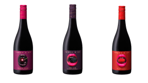 Lush label design for new red wine range