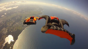 It doesn't get more extreme than Wingsuit flying!
