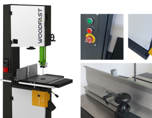 Made for Australia: deluxe Woodfast bandsaw