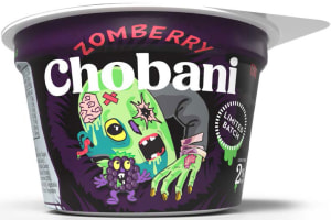 Spooky Chobani yoghurt creeps onto shelf