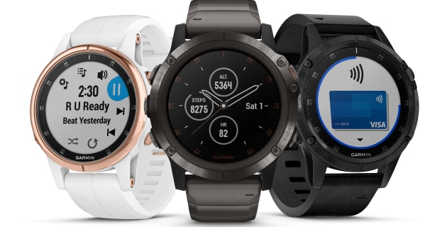 Leave the phone at home with Garmin's Fenix 5 Plus - Great Walks