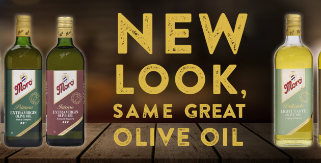 Moro olive oil re-brands after 26 years - PKN Packaging News