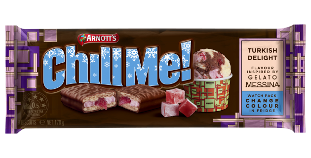 Tams Near Me >> Arnott S Colour Changing Tim Tam Packaging Creates Cool