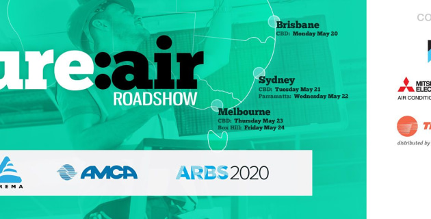 Industry backs educational roadshow on trends to transform HVAC