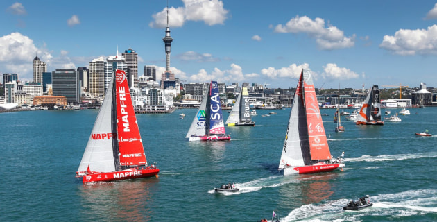 the ocean race 2021-22 route is announced - mysailing.au