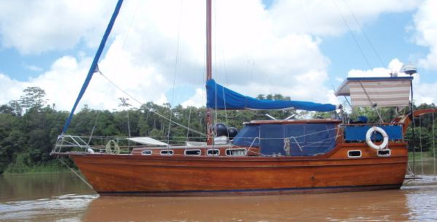 Maintaining a wooden boat in the tropics - MySailing com au